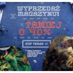 Mr. Gugu & Miss Go: wyprzedaż 40% zniżki na bluzy, bluzy z kapturem, spodnie dresowe oraz kobiecy krój