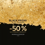 Black Friday w Marks&Spencer: do 50% zniżki na wybrane produkty
