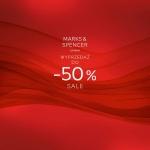 Marks & Spencer: wyprzedaż do 50%