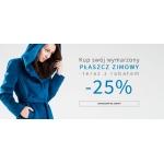Makalu: 25% zniżki na płaszcze zimowe oraz kurtki