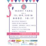 Targi Rodzinne Mamy Targ 15 września 2018 w Łodzi