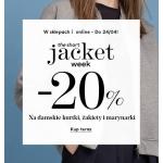Mango: 20% zniżki na kurtki, żakiety, marynarki