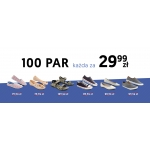 McArthur: 100 par butów za 29,9 zł