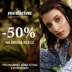 Medicine: 50% zniżki na drugą rzecz