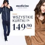 Medicine: wszystkie kurtki za 149 zł