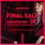 Medicine: dodatkowe 30% zniżki na kolekcję przecenioną