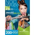 Noc Zakupów w Rzeszowie w galerii Millenium Hall 23 maja 2014