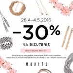 Mohito: 30% zniżki na biżuterię