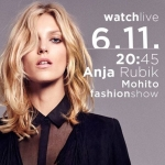 Anja Rubik Mohito fashionshow oglądaj na żywo 6 listopada
