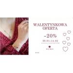 Mokobelle: 20% zniżki na biżuterię z zakładki Walentynki