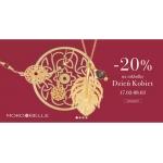 Mokobelle: 20% rabatu na biżuterię z zakładki Dzień Kobiet