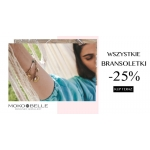 Mokobelle: 25% rabatu na wszystkie bransoletki
