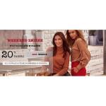Molly: Weekend Zniżek 20% zniżki na modne ubrania damskie
