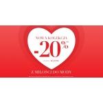 Monnari: Walentynkowa promocja 20% rabatu na nową kolekcję odzieży damskiej