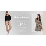 Monnari: 15% rabatu na odzież damską w militarnym stylu
