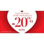 Monnari: 20% zniżki na odzież z nowej kolekcji z okazji Walentynek