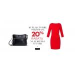 Monnari: 20% zniżki na sukienki oraz tuniki przy zakupie torby