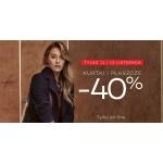 Monnari: 40% zniżki na kurtki i płaszcze