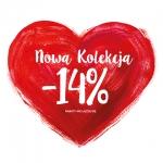 Monnari: 14% zniżki z okazji Walentynek