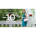 Monnari: dodatkowe 10% zniżki na torby damskie z nowej kolekcji