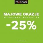 Monnari: 25% zniżki na kolekcję wiosna-lato 2016
