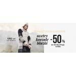 Moodo: 50% rabatu na drugą sztukę z asortymentu swetry, koszule i bluzki