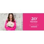 Moodo: Stylowy Weekend 20% zniżki na modną i nowoczesną odzież damską