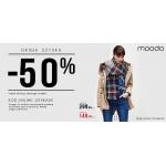 Moodo: 50% zniżki na drugą sztukę