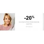 Moodo: 20% rabatu na wszystkie przecenione swetry