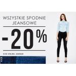 Moodo: 20% rabatu na wszystkie spodnie jeansowe