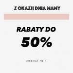 Mosquito: do 50% rabatu na ubrania damskie na Dzień Mamy