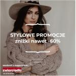 Mustache: Zakupy z Klasą do 60% zniżki na kolekcję jesienną odzież damskiej