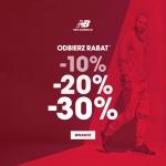 New Balance: do 30% zniżki na odzież i obuwie