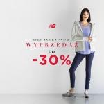 New Balance: wyprzedaż do 30% zniżki na odzież oraz obuwie sportowe