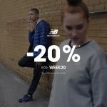 New Balance: 20% rabatu na wszystkie nieprzecenione produkty