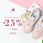 New Balance: 25% zniżki na całą kolekcję obuwia na Dzień Matki
