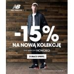 New Balance: 15% zniżki na nową kolekcję obuwia oraz odzieży