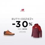 New Balance: 30% zniżki przy zakupie obuwia oraz minimum jednej sztuki odzieży