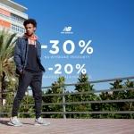 New Balance: 30% rabatu na wybrane produkty oraz 20% zniżki na pozostałą kolekcję