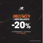 New Balance: 20% zniżki na obuwie z okazji Halloween