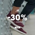 New Balance: 30% rabatu na wszystko z okazji Andrzejek