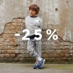 New Balance: 25% zniżki na odzież i obuwie dla każdego na Dzień Dziecka