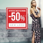 New Look: wyprzedaż do 50% zniżki