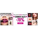 NYX Cosmetics: wyprzedaż do 70% zniżki na produkty marki