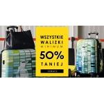 Ochnik: od 50% rabatu na wszystkie walizki