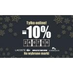 Office Shoes: ekstra 10% zniżki na wybrane marki obuwia Lacoste, Skechers, Lumberjack