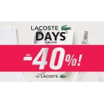 Office Shoes: do 40% zniżki na buty marki Lacoste