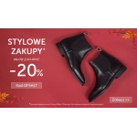 Office Shoes: weekend zniżek 20% rabatu na buty