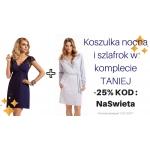 Olive: 25% zniżki na zestaw koszula nocna + szlafrok