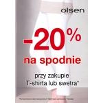 Olsen: 20% zniżki na spodnie